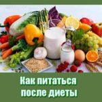 Как питаться после диеты