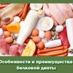 Особенности и преимущества белковой диеты