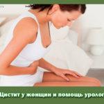 Цистит у женщин и помощь уролога